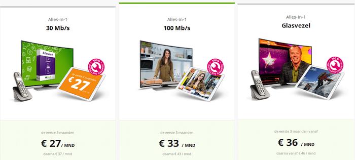 Online.nl vergelijk hier de beste deals