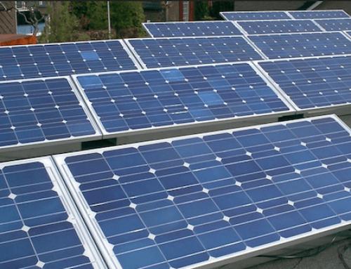 Energiekosten besparen door zonnepanelenpark