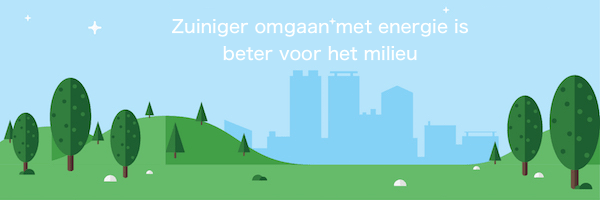 Afbeelding - zuiniger omgaan met energie is beter voor het milieu