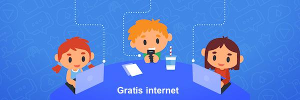 Profiteren van gratis internet